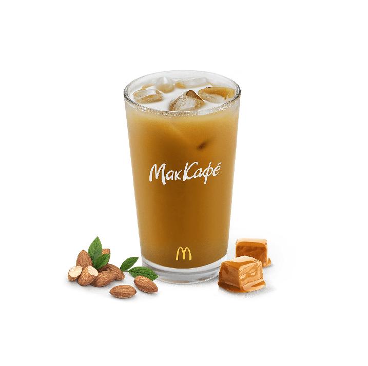 айс кофе карамель макдоналдс объем